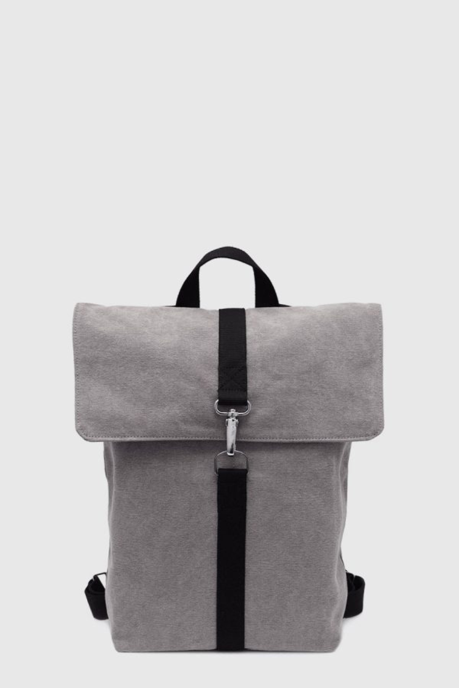 Mochila vegana impermeable color gris made in Spain