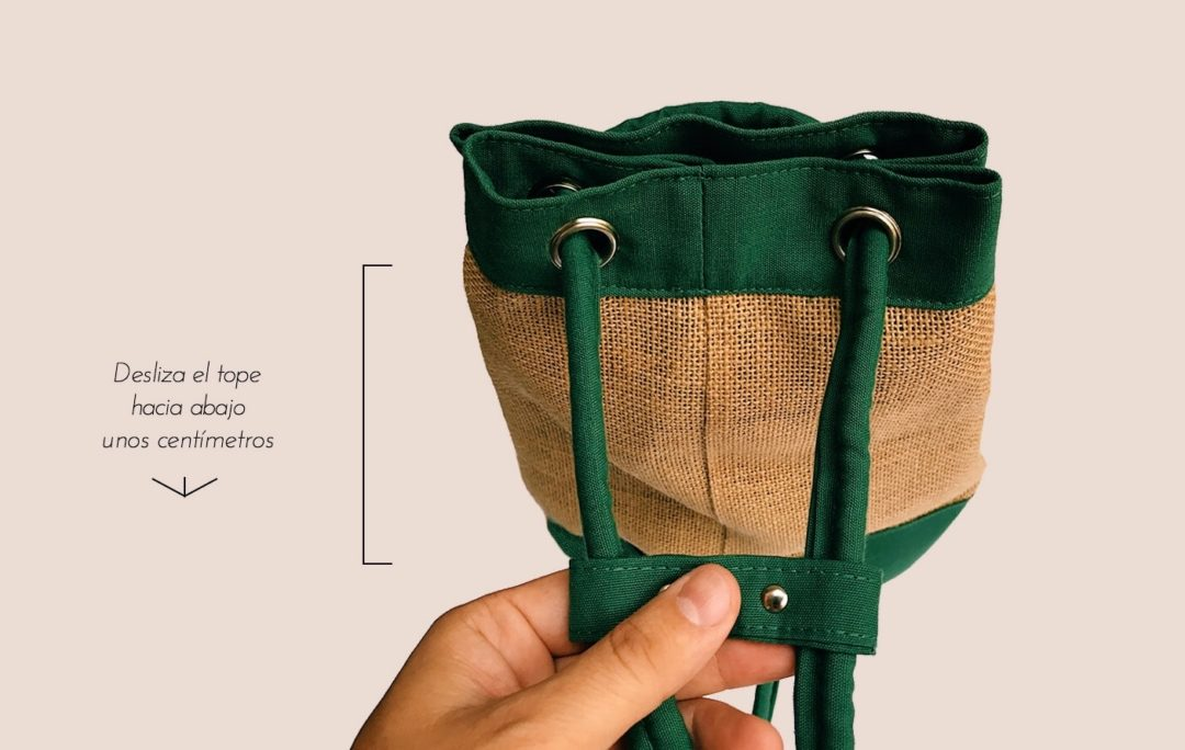 Como convertir la mochila en bolso