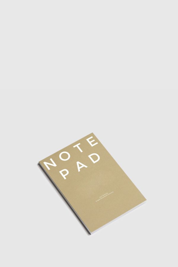 Cuaderno minimal made in Spain