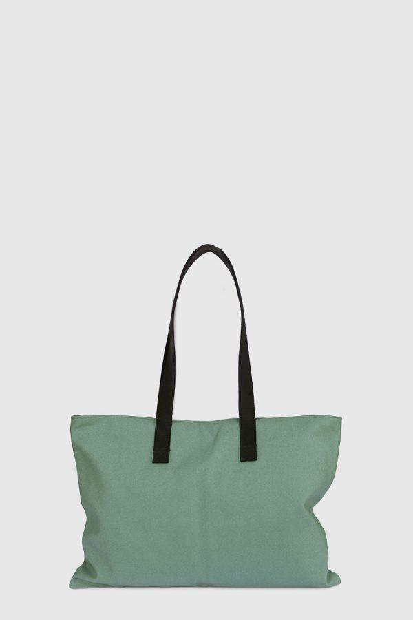 Bolso grande para artista impermeable color verde made in Spain