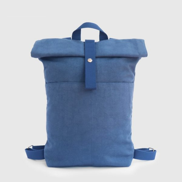blue waterproof backpack
