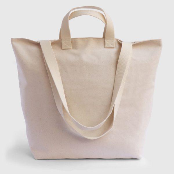 bolsa de playa de loneta