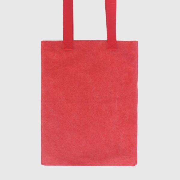 bolso de verano rojo
