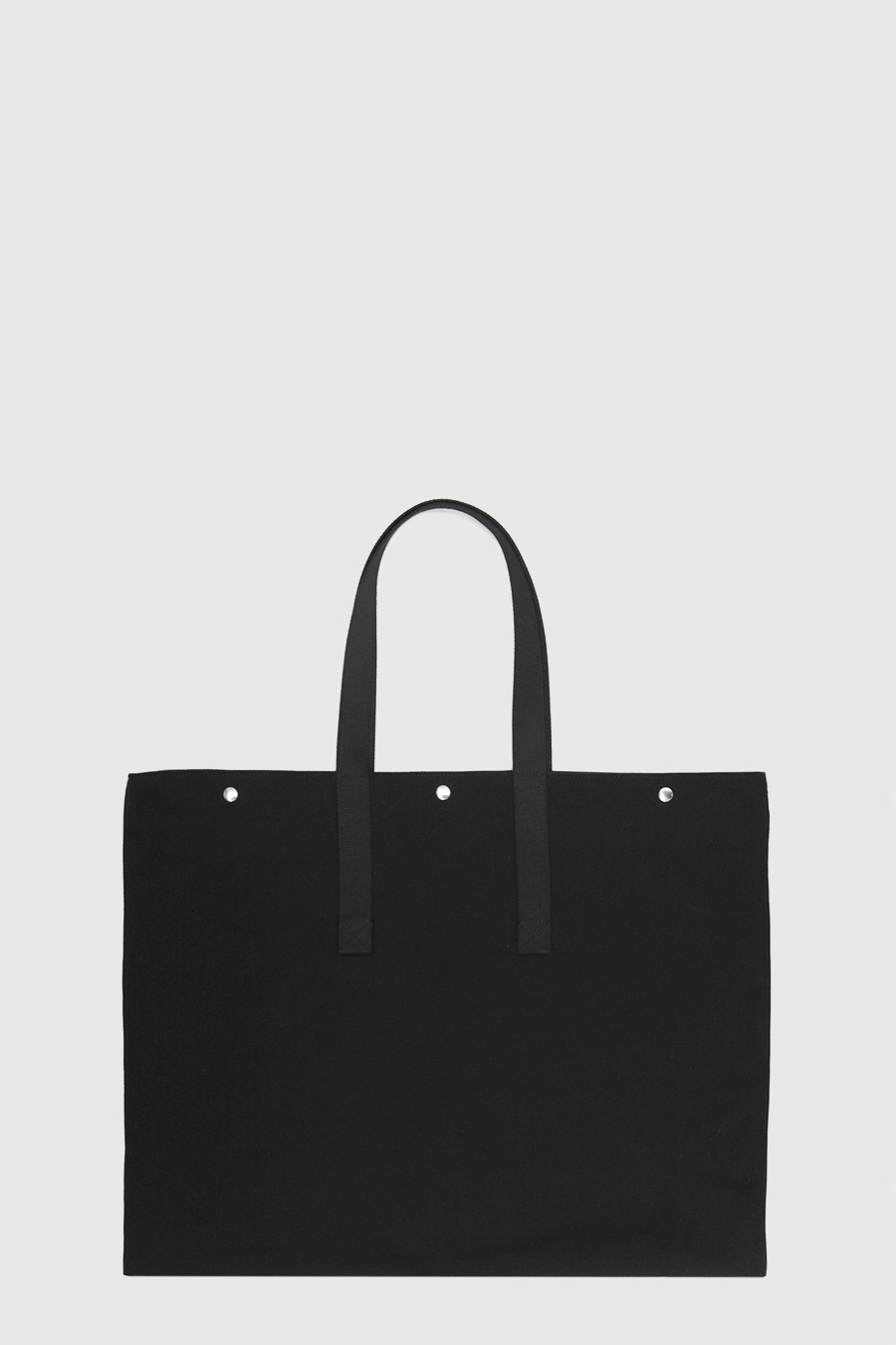 Bolso grande para artista impermeable color negro hecho en España