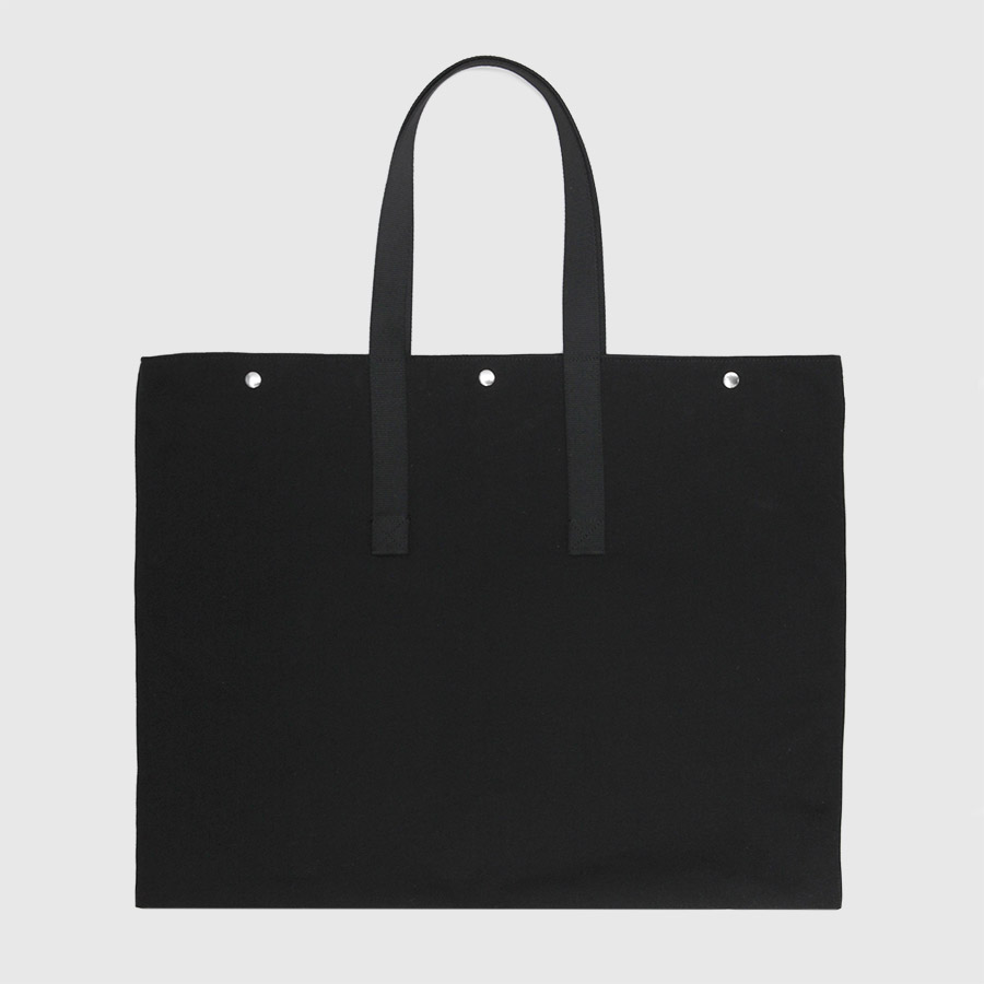 87869331dd91 Black canvas tote bag. Waterproof canvas by Botó de Cotó