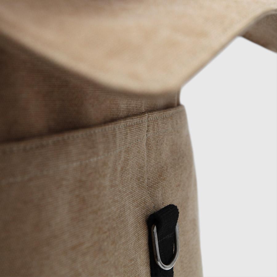 mochila barcelona color marrón