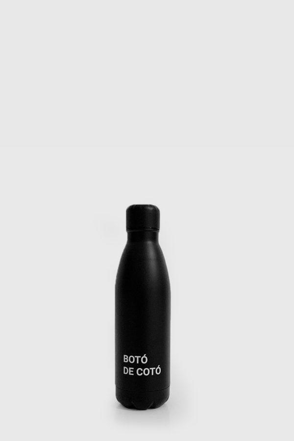 Botella acero inoxidable, sin plastico