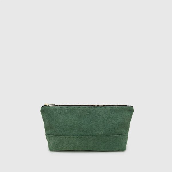 toilet bag green