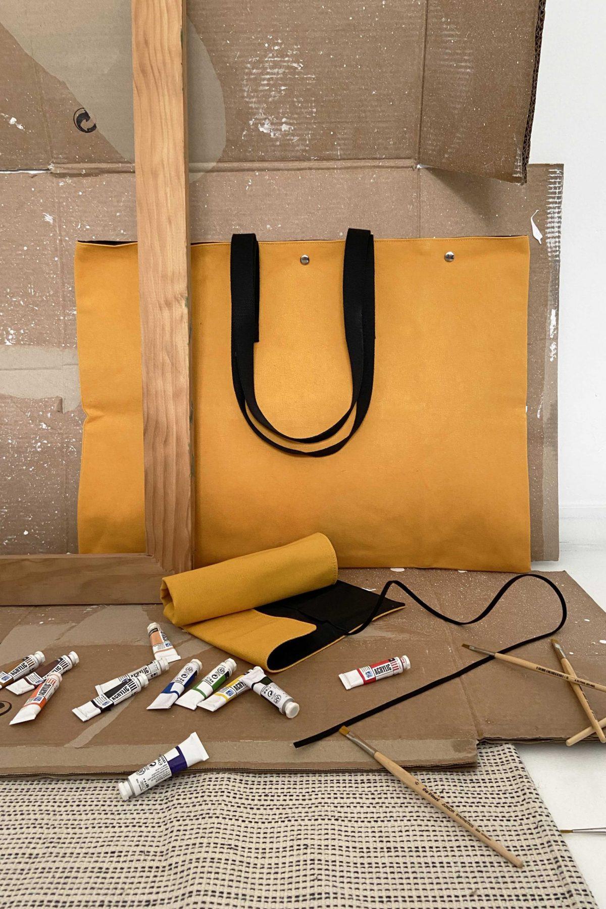 Pack de artista, bolsa y estuche