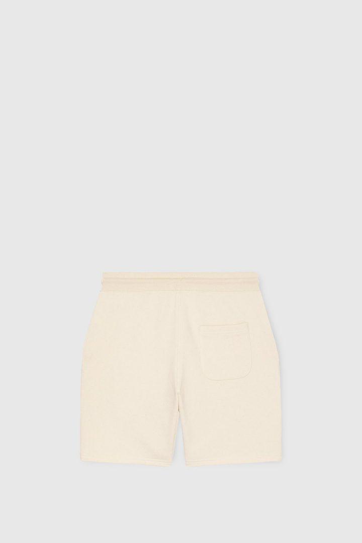 pantalon corto trasera crudo